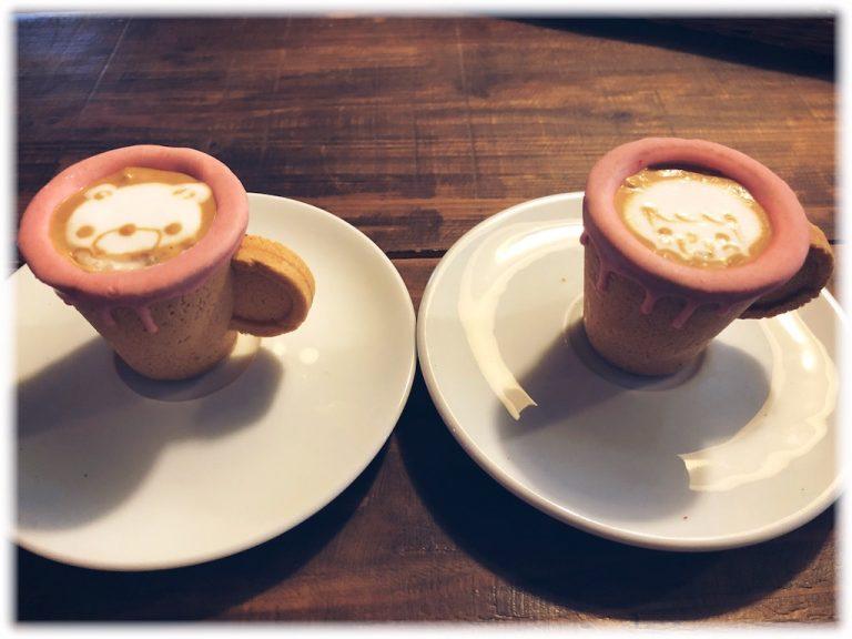 天満橋:コップも食べれるエスプレッソ アールジェイカフェ