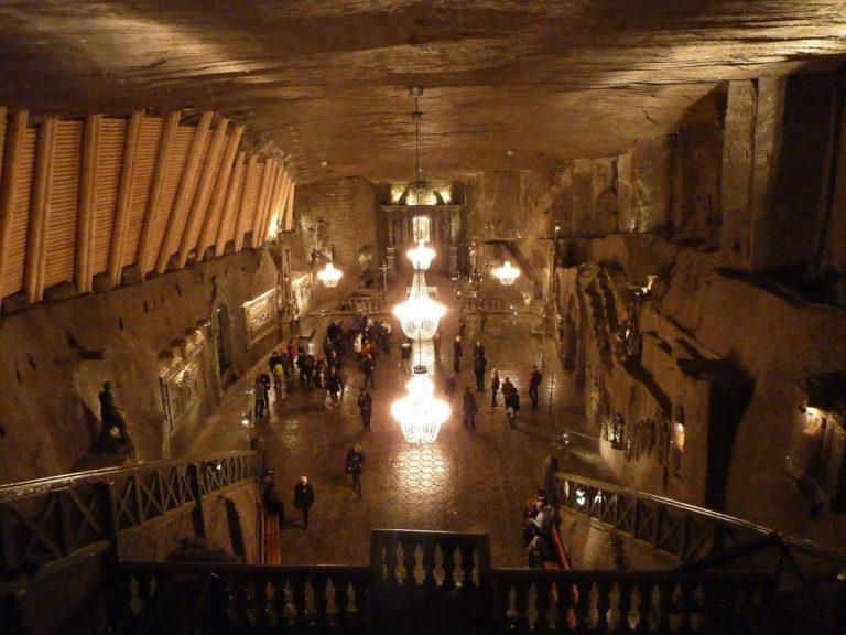 世界最大の岩塩坑ヴィエリチカ